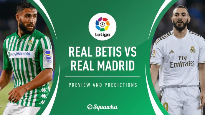 Betis- Real Madrid - Pronostico