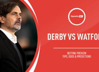 Championship, Derby-Watford: quote e pronostico