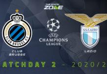 Champions League, Club Brugge-Lazio: quote, pronostico e probabili formazioni