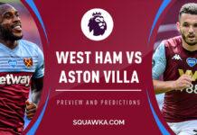 Premier League, West Ham-Aston Villa: quote, pronostico e probabili formazioni