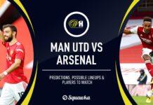 Premier League, Manchester United-Arsenal: quote, pronostico e probabili formazioni