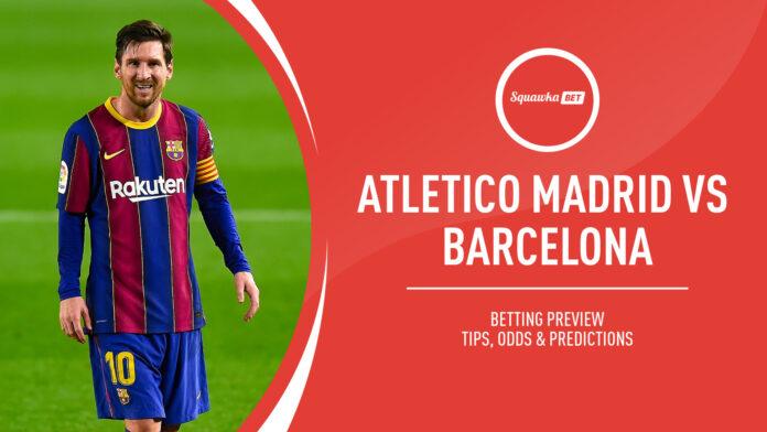 Liga, Atletico Madrid-Barcellona: quote, pronostico e probabili formazioni