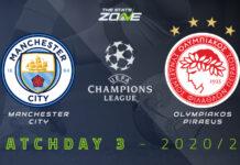 Champions League, Manchester City-Olympiakos: quote, pronostico e probabili formazioni