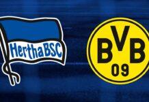 Bundesliga, Hertha-Borussia Dortmund: quote, pronostico e probabili formazioni