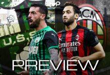 Serie A, Sassuolo-Milan: quote, pronostico e probabili formazioni