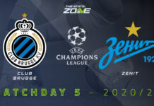 Champions League, Club Brugge-Zenit: quote, pronostico e probabili formazioni