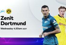 Champions League, Zenit-Borussia Dortmund: quote, pronostico e probabili formazioni